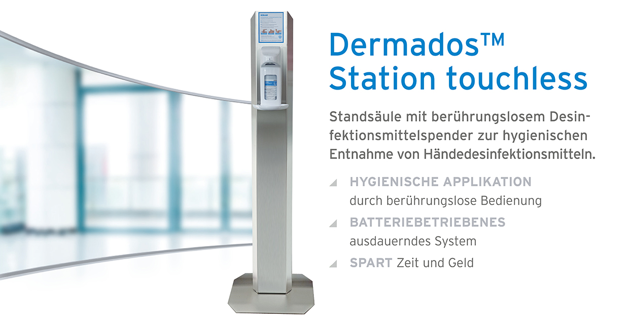 Dermados Station touchless