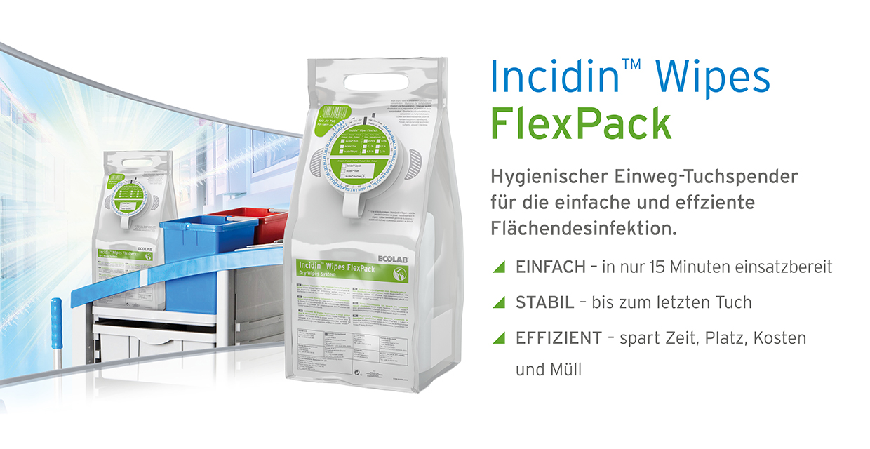 Incidin Wipes FlexPack